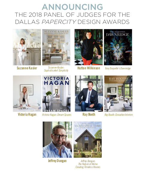 The PaperCity Design Awards 2018 Judges